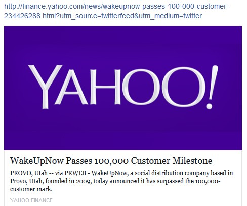 wakeupnow wake up now yahoo 100000 customers scam pyramid scheme review proof legit